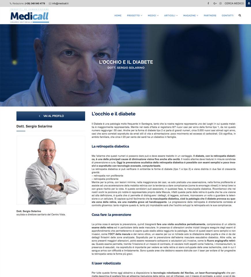 Sergio Solarino Articolo Medicall